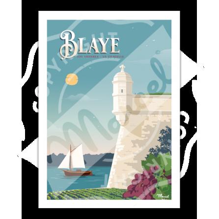 Poster BLAYE ''La Citadelle''