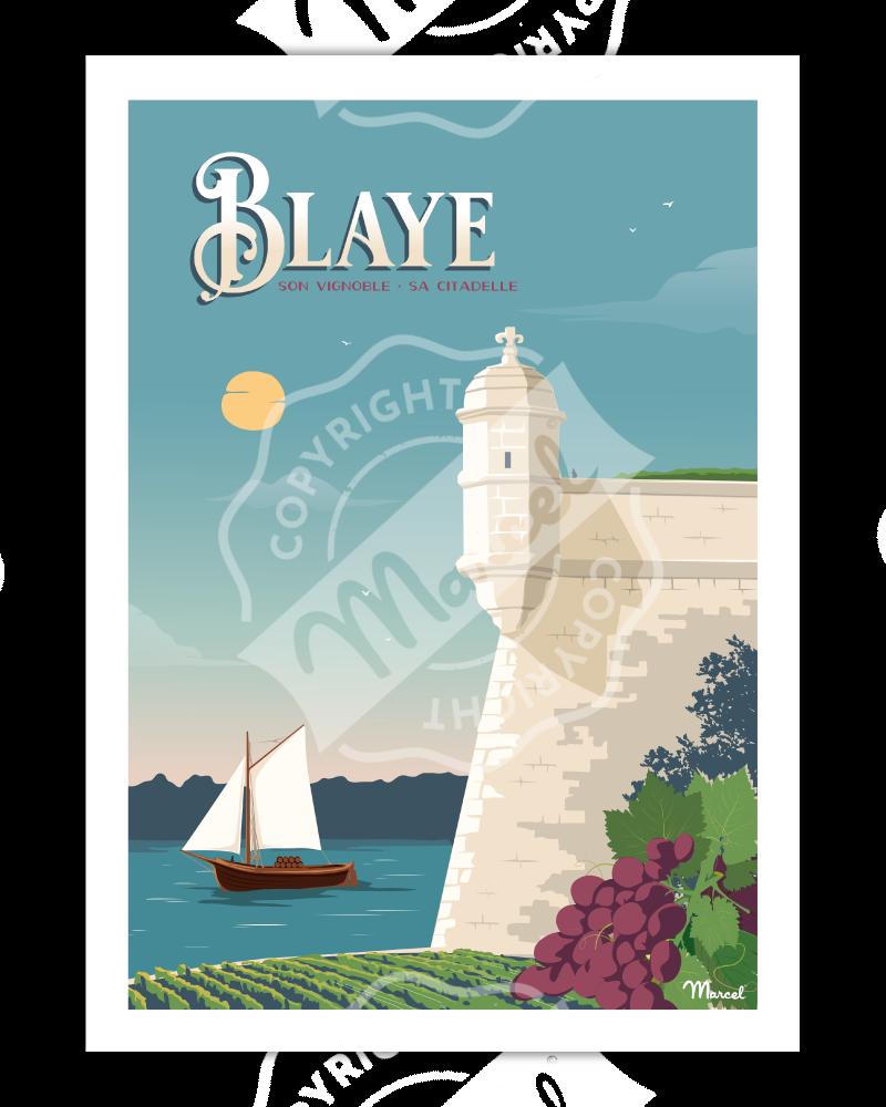 Affiche BLAYE ''La Citadelle''