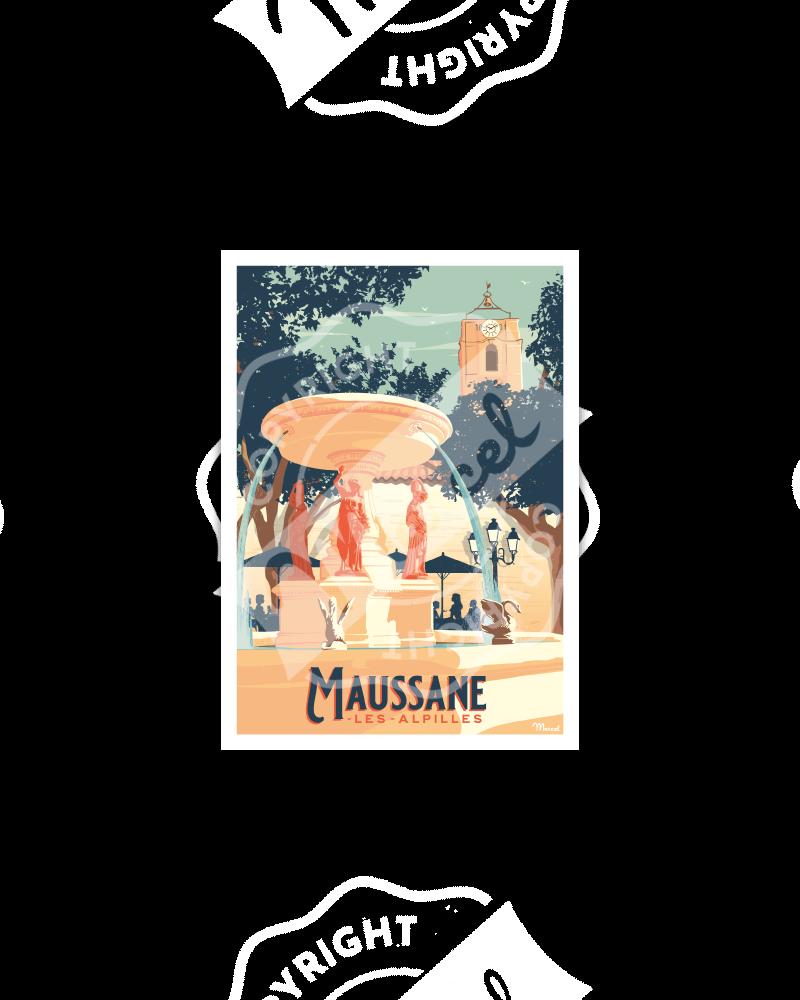 Postcard MAUSSANE-LES-ALPILLES