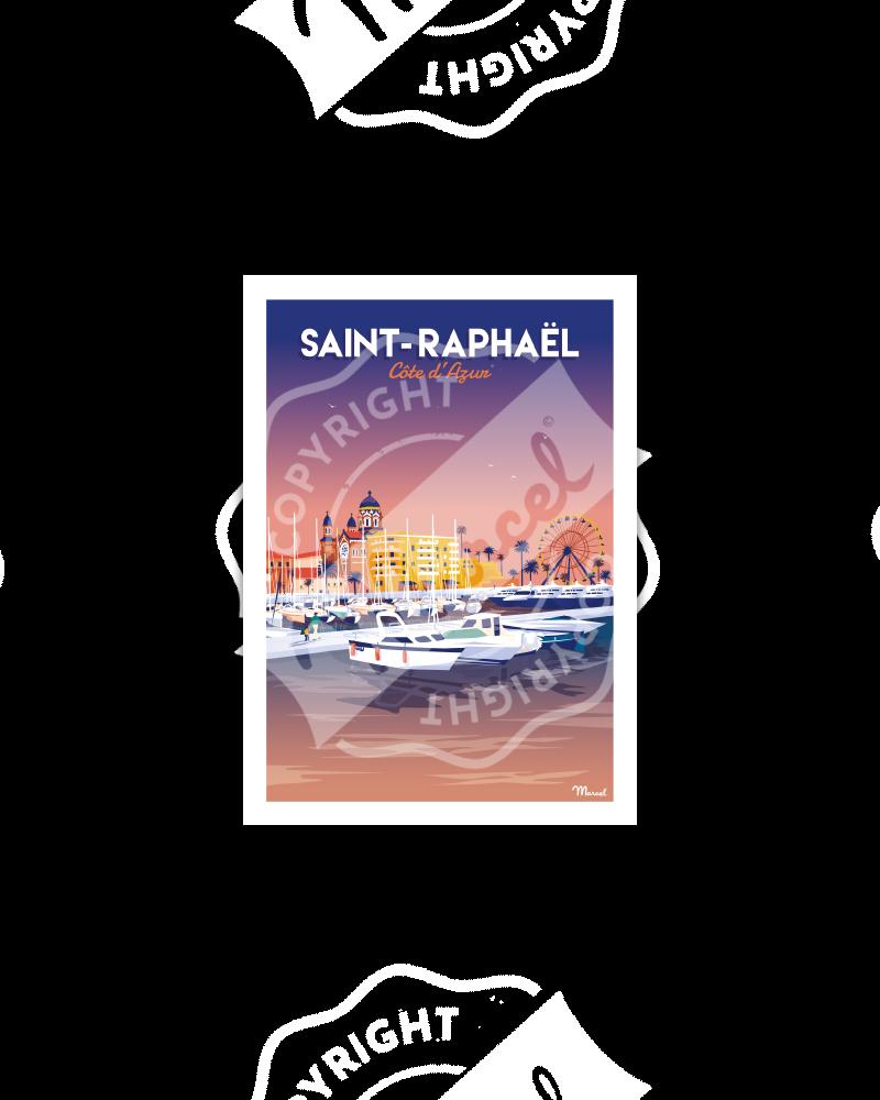 Postcard SAINT-RAPHAEL ''Le Port''