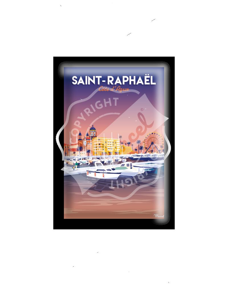 MAGNET SAINT-RAPHAEL ''Le Port''