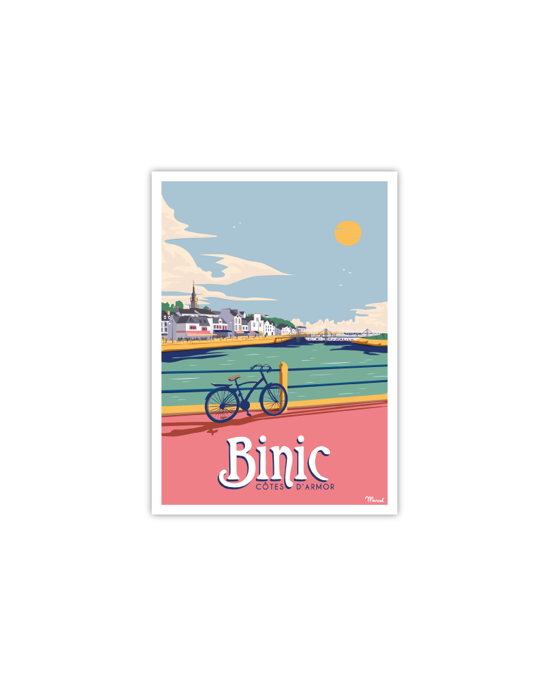 Carte Postale BINIC
