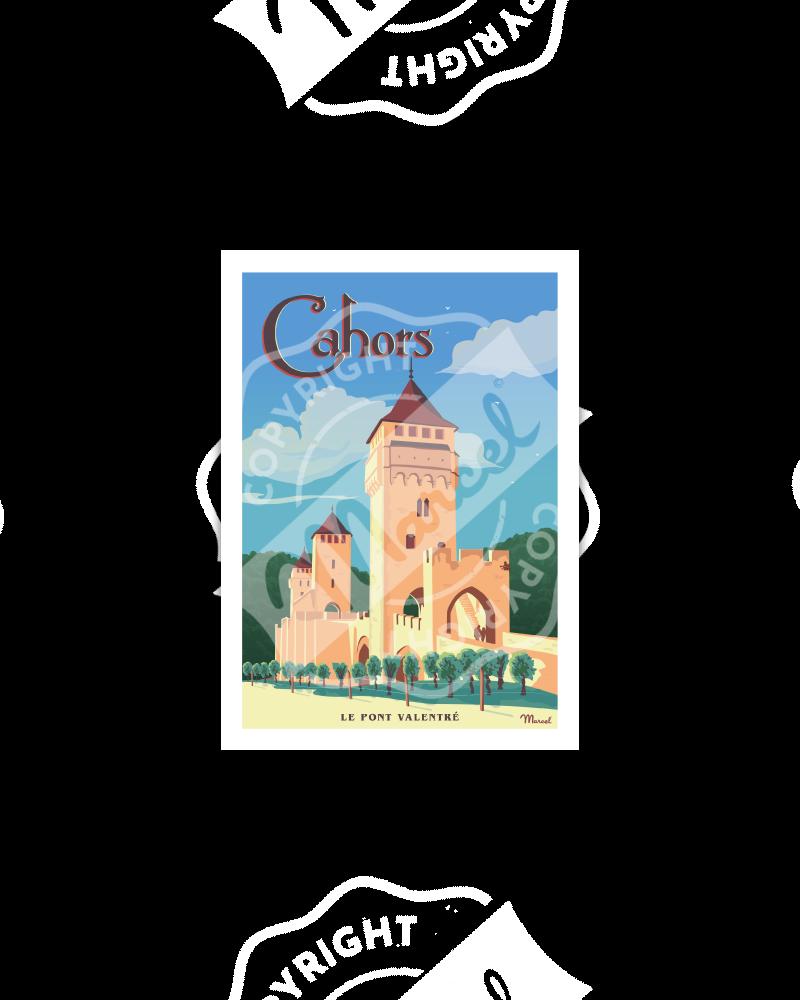 Postcard CAHORS