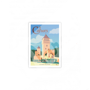 Carte Postale CAHORS