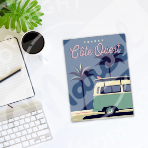 Notebook Côte Ouest Palm3van