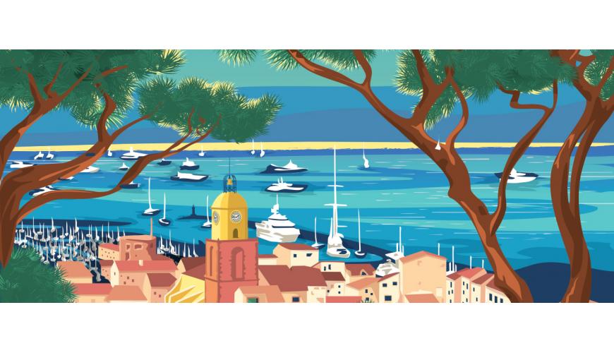 Affiches Provence & Côte d'Azur - Marcel Travel Posters